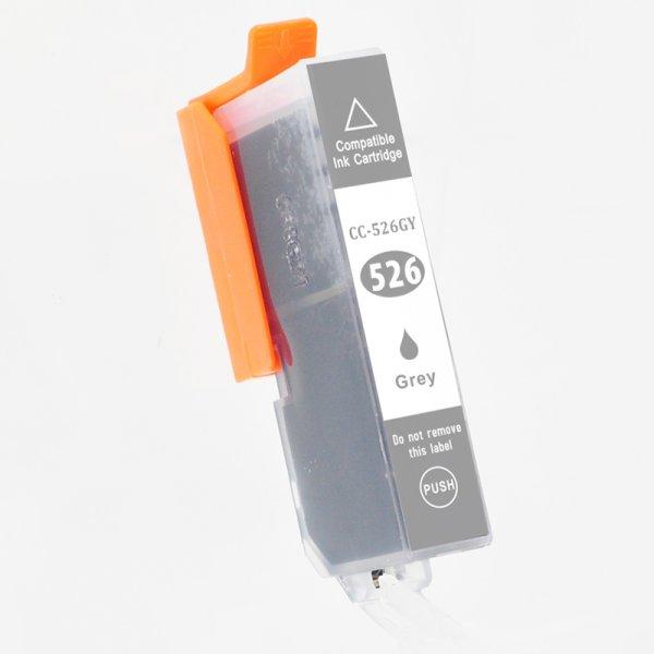Druckerpatrone Kompatibel zu Canon CLI 526GY (4544 B 001) grau