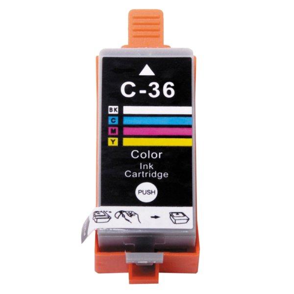 Druckerpatrone Kompatibel zu Canon CLI-36 (1511 B 001) 3-farbig
