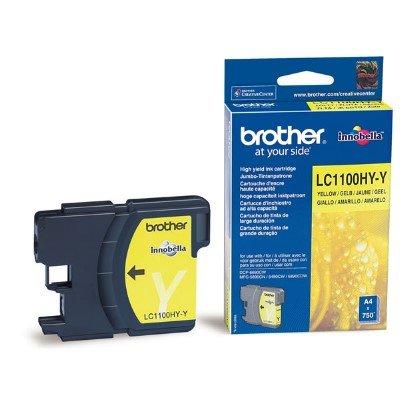 Druckerpatrone Original Brother LC-1100 Y HC gelb