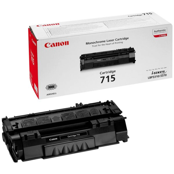 Toner Original Canon 715 (1975 B 002)  schwarz
