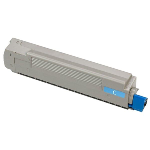 Toner Kompatibel zu OKI 43487711 C8600 cyan