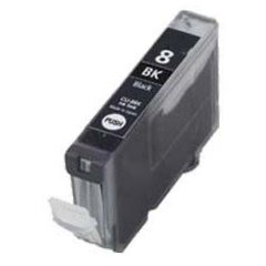Druckerpatrone Kompatibel zu Canon CLI-8Bk (0620 B 001) foto-schwarz