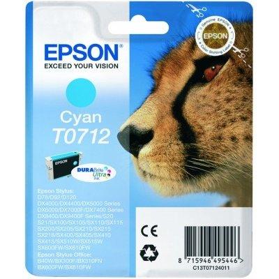 Druckerpatrone Original Epson T0712, C13T07124010 cyan