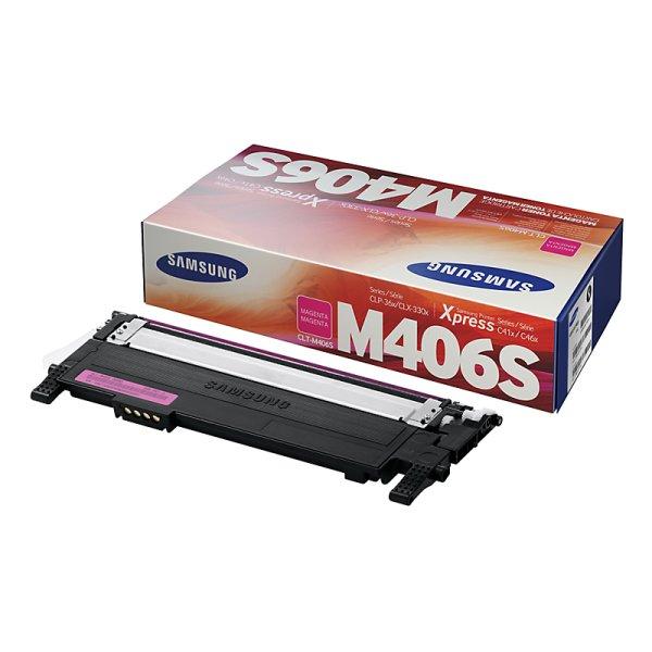 Toner Original Samsung CLT-M406S magenta