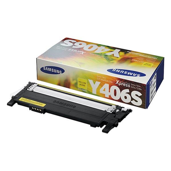 Toner Original Samsung CLT-Y406S gelb
