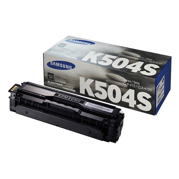 Toner Original Samsung CLT-K504S schwarz