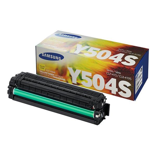 Toner Original Samsung CLT-Y504S gelb
