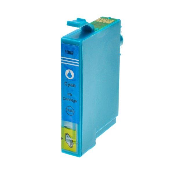 Druckerpatrone Kompatibel zu Epson T1302, C13T13024010 cyan