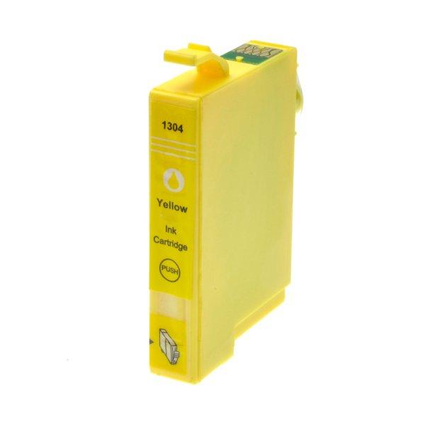 Druckerpatrone Kompatibel zu Epson T1304, C13T13044010 gelb