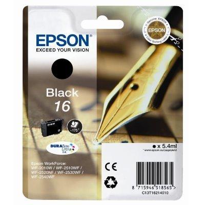 Druckerpatrone Original Epson 16, T1621, C13T16214010 schwarz