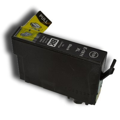 Druckerpatrone Kompatibel zu Epson 18XL, T1811, C13T18114010 schwarz