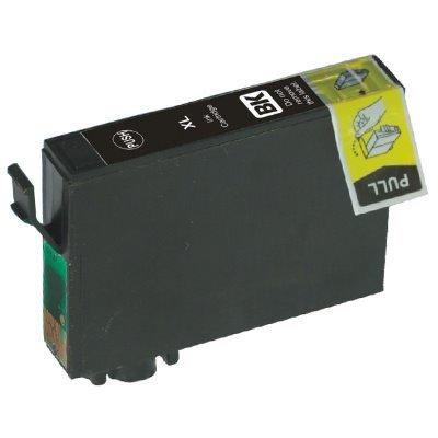 Druckerpatrone Kompatibel zu Epson 16XL, T1631, C13T16314010 schwarz