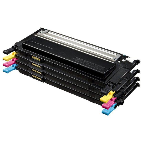Toner Value-Kit Kompatibel zu Samsung CLT-P4092C schwarz, cyan, magenta, gelb