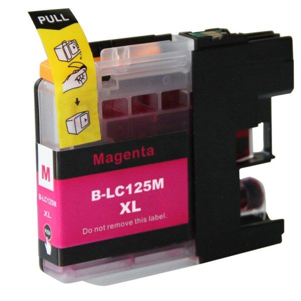 Druckerpatrone Kompatibel zu Brother LC-121 M / LC-123 M / LC-125 XL M magenta