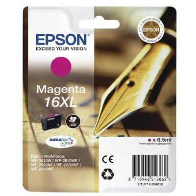 Druckerpatrone Original Epson 16XL, T1633, C13T16334010 magenta