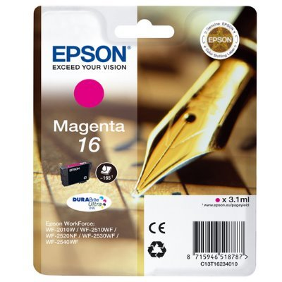 Druckerpatrone Original Epson 16, T1623, C13T16234010 magenta