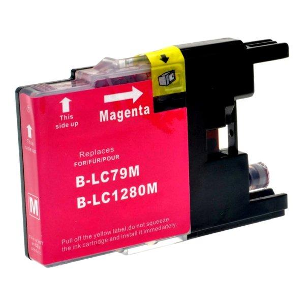 Druckerpatrone Kompatibel zu Brother LC-1280 XL M magenta