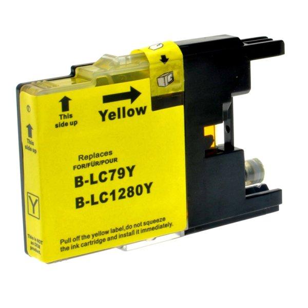 Druckerpatrone Kompatibel zu Brother LC-1280 XL Y gelb