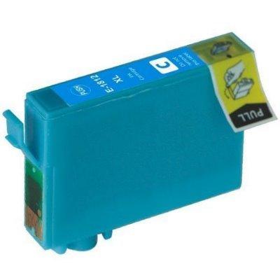 Druckerpatrone Kompatibel zu Epson 18XL, T1812, C13T18124010 cyan