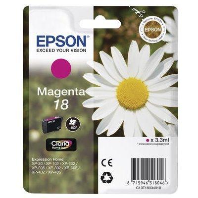 Druckerpatrone Original Epson 18, T1803, C13T18034010 magenta