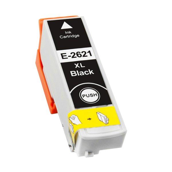 Druckerpatrone Kompatibel zu Epson 26XL, T2621, C13T26214010 schwarz