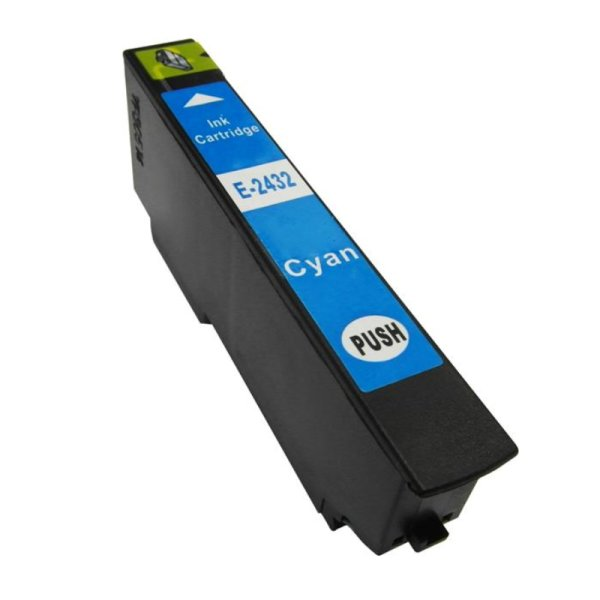 Druckerpatrone Kompatibel zu Epson 24XL, T2432, C13T24324010 cyan