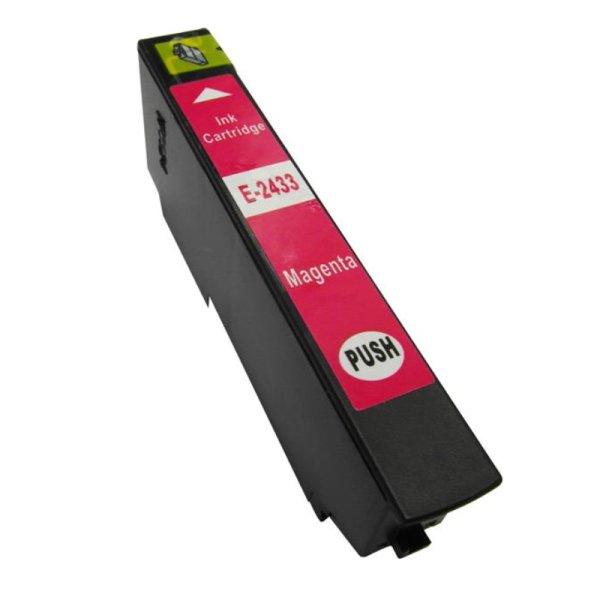 Druckerpatrone Kompatibel zu Epson 24XL, T2433, C13T24334010 magenta