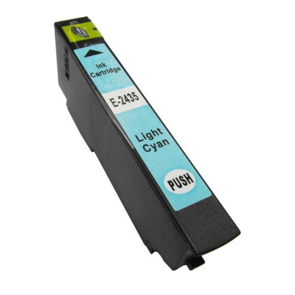 Druckerpatrone Kompatibel zu Epson 24XL, T2435, C13T24354010 foto-cyan