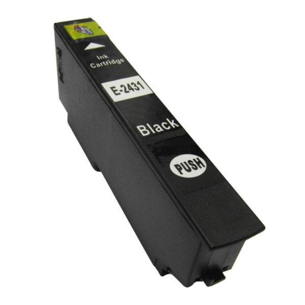 Druckerpatrone Kompatibel zu Epson 24XL, T2431, C13T24314010 schwarz