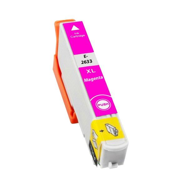 Druckerpatrone Kompatibel zu Epson 26XL, T2633, C13T26334010 magenta