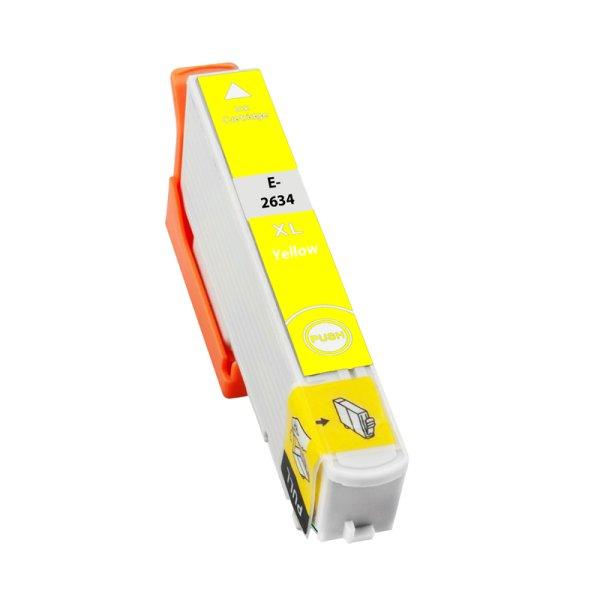 Druckerpatrone Kompatibel zu Epson 26XL, T2634, C13T26344010 gelb