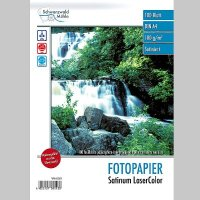 Fotopapier Satinum LaserColor DIN A4 matt, 100 Blatt, 130...