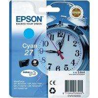 Druckerpatrone Original Epson 27, T2702, C13T27024010 cyan