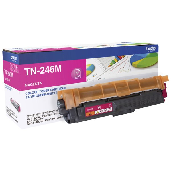 Toner Original Brother TN-246 M magenta