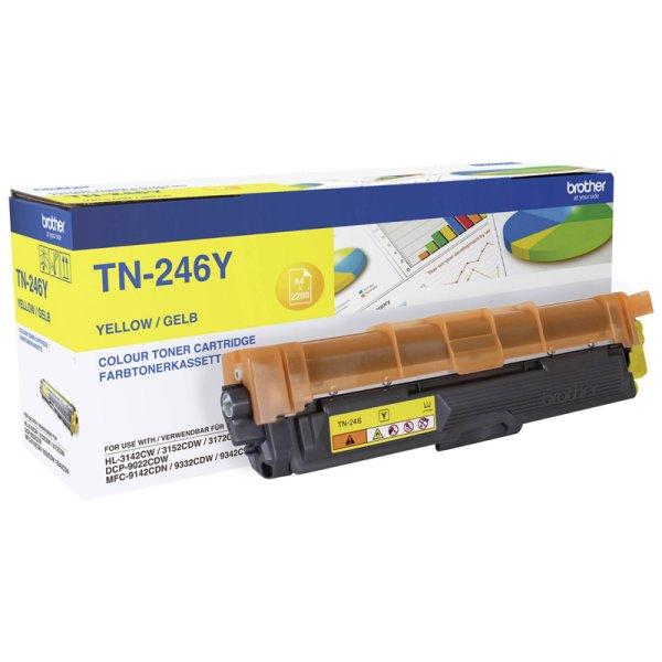 Toner Original Brother TN-246 Y gelb