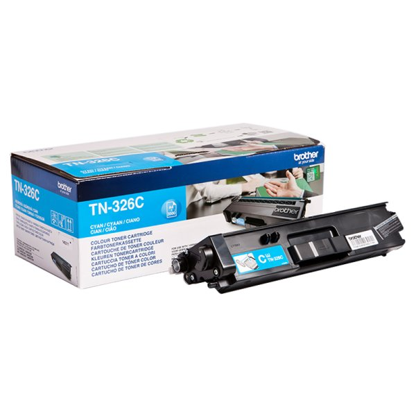 Toner Original Brother TN-326 C cyan