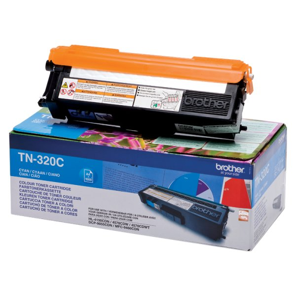 Toner Original Brother TN-320 C cyan