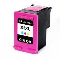 Druckerpatrone Kompatibel zu HP F6U67AE (302XL) 3-farbig