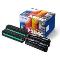 Toner Value-Kit Original Samsung CLT-P504C schwarz, cyan,...