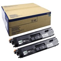 Toner Doppelpack Original Brother TN-900 BK Twin schwarz