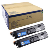 Toner Doppelpack Original Brother TN-900 C Twin cyan