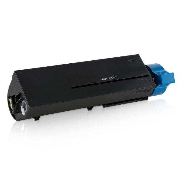 Toner Kompatibel zu OKI 45807102 B 412 schwarz