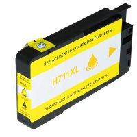 Druckerpatrone Kompatibel zu HP CZ 132 A (711) gelb