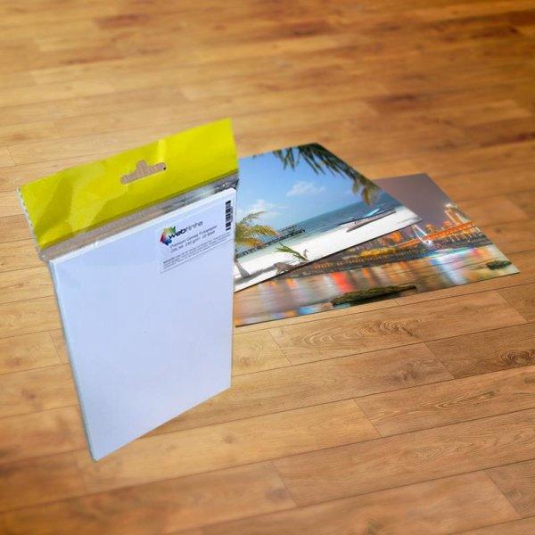 Premium Glossy Fotopapier, DIN A6 glossy, 20 Stck, 230 g/m²