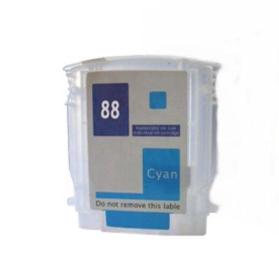 Druckerpatrone Kompatibel zu HP C9391AE (88) cyan