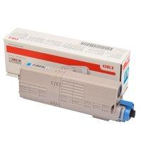 Toner Original OKI 46490607 C532 cyan
