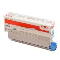 Toner Original OKI 46507507 C612 cyan