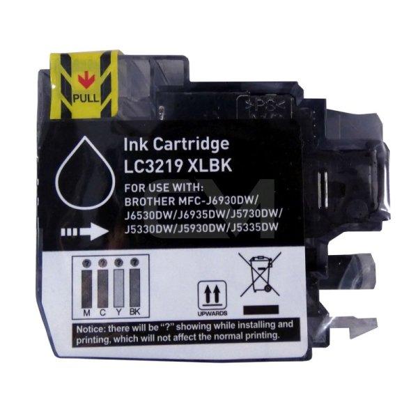 Druckerpatrone Kompatibel zu Brother LC-3219 XL BK schwarz
