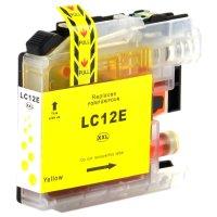 Druckerpatrone Kompatibel zu Brother LC-12EY LC12E Y gelb