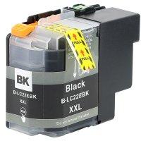 Druckerpatrone Kompatibel zu Brother LC-22EBK schwarz